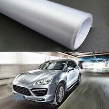 "12"" x 60"" Silver Brushed Aluminum Vinyl Wrap Dectoration Sticker Decal Sheet"