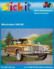 Mini Stecksystem Mercedes 280SE ca. 7.600 Teile Nr. 42147 mit XXL-Steckvorlage