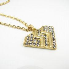 BON JOVI Rock Band Necklace Pendant Men Women Rhinestone Heart Charms NEW