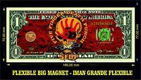 Five Fingers Death a Punch IMAN BILLETE 1 DOLLAR BILL MAGNET PANTERA