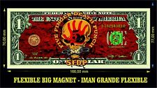 Five Fingers Death a Punch IMAN BILLETE 1 DOLLAR BILL MAGNET PANTERA