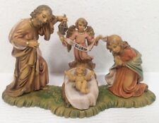 Fontanini Nativity Baby Jesus Mary Joseph Angel Italy 1 Piece
