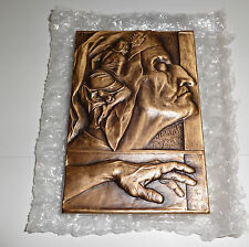 2006 Heidi Wastweet Dante Inventing Beatrice Bronze RARE Promo Sample Sculpture