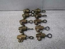 Lot of 10 Hubbell BC20 Bronze Hot Line Clamp 8-2/0 BC-2/0 HPS 3-10.5 MM