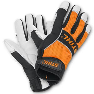 Handschuhe Aus Arbeit STIHL Advance Ergo Ms für Kettensäge Freischneider
