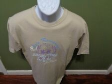 LA MARTINA Polo Saddlery Men's SMALL T Shirt BEIGE Made in Argentina