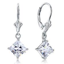 Princess Diamond Fine Earrings