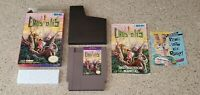 Crystalis Nintendo NES RPG SNK lot Box Manual Instructions Insert Complete CIB !