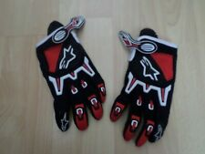 new adults pair Motorbike alpine-star techstar  gloves red mx offroad enduro