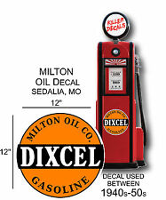 "24/"" SUNRAY DX GASOLINE OIL PUMP AND LUBSTER DECAL DX-3"