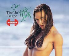 Tina Jo Bagne Signed 1995 Ironman Poster w/ full magazine