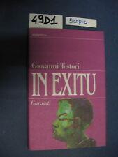 Giovanni Testori IN EXITU 49 D 1