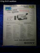 Sony Service Manual DCR TRV120 TRV120E TRV120P TRV125E TR8000E TR8100E (#5727)