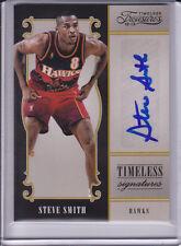 2012-13 Timeless Treasures Signatures Auto Steve Smith Atlanta Hawks # 29/199
