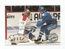 Patrick Roy Canadiens 1991-1992 Pro Set Platinum #61