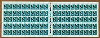 1982 Full Sheet 100 x 35c Australia Stamps 'Whales - Southern Right Whale' MNH