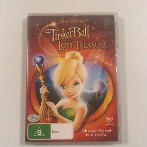Tinkerbell and the Lost Treasure (DVD 2009) Jesse Mccartney Mae Whitman Region 4