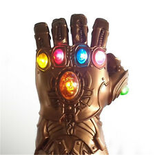 Avenge 3 Infinity War Infinity Gauntlet LED Cosplay Thanos Gloves With LED L1