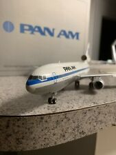 Herpa 200 scale plastic/ resin model Pan AM DC-10-30  commercial airliner N84NA