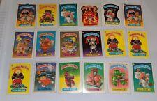 1985 Garbage Pail Kids Series 1 OS1 Worn Shape 24 Cards