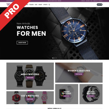 Premium Watches Store - Dropshipping Website Business For Sale