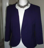 Women's Kaliko Purple Jacket UK 14 Weddings
