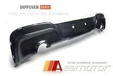 3D Type Carbon Fiber Diffuser Dual for BMW 1-Series F20 Pre-LCI M Sport Bumper
