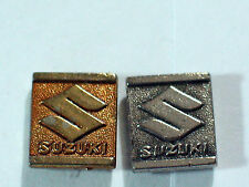 Suzuki Motorcycle Pin Vintage (Choice of 1-Silvertone or Goldtone) ***