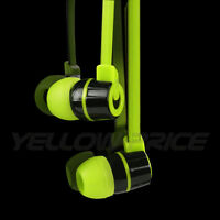 Noise Isolating In-Ear Headphone Headset Earphone w/ Microphone Remote ,ON/OFF
