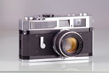 PRECIOSA CLASSIC CANON 7 Model 1.8/50 50mm LTM LIGHT METER RANGEFINDER SERVICED