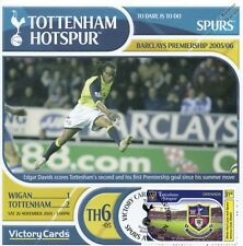Spurs 2005-06 Wigan (Edgar Davids) Football Stamp Victory Card #506