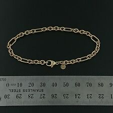 Brand New 9ct yellow gold Bracelet - Handmade 7+1 bracelet with Cartier clasp