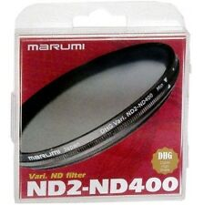 Marumi 49mm DHG Variable ND2-ND400 Neutral Density Filter DHG49VND, London