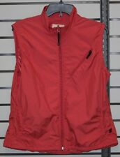 Woolrich Lightweight Full-Zip Vest Women's size M Soft Ruby
