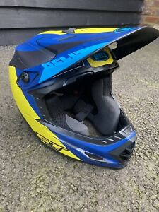 BELL Full-9 Fusion MIPS MTB USED  Full Face Helmet  GT Colours. size M