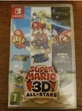 Super Mario 3D All-Stars Video Game for Nintendo Switch Brand New Sealed Genuine