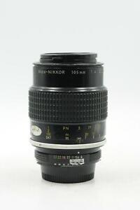 Nikon Nikkor AI 105mm f4 Micro Lens 105/4 #000