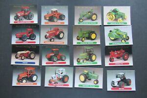 16 Ertl Farm Toy Cards Harvest Heritage Gold 1993 Ford Deere Allison + EUC