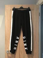 PINK By Victoria Secret Nero Classico's Pantaloni sportivi Taglia Media Nuova