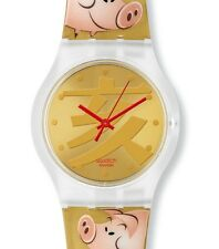 """SWATCH JELLY IN JELLY CHINESE NEW YEAR 2007 """"BE LUCKY"""" (SUJK119STD) NEUWARE"""