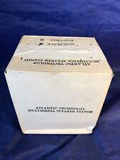 Atlantic Technology M-116 Black, Vintage Multimedia Speaker Stands (pair)