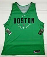 Nike NBA Celtics Jersey Reversible Practice Jersey MENS XXL Brand New NWT