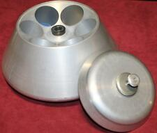 Sorvall 6 Place Fixed Angle Centrifuge Rotor 13000RPM 62mm Lid Free Shipping!