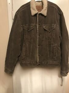 Levis Wool Jean  Jacket Grey