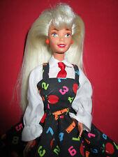 B404-teacher profesores barbie #18914 mattel 1995 indonesia joyas se ha reemplazado