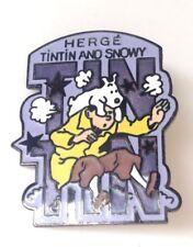 Rare  Pin's Tintin Canadian Club 1986 PARFAIT ETAT