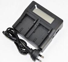 LCD Battery Charger for Canon LP-E6 LP-E6N XC10 EOS 60D 70D 80D 5D 6D 7D Mark2/3