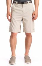 "Columbia Men's 10"" Cargo Shorts Silver Ridge  ‑ Size 42 ‑ Fossil NEW w/tags"