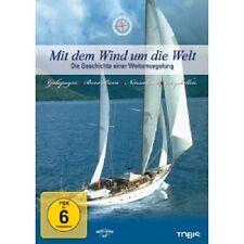 MIT DEM WIND UM DIE WELT-DIE GESCHICHTE EINER WELTUMSEGELUNG  3 DVD NEU