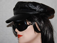 100% Authentic Versace Womans Leather Cap Hat Small